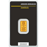 Gold bar, Argor Heraeus 2 g