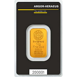 Gold bar, Argor Heraeus 10 g