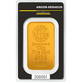 Gold bar, Argor Heraeus 100 g