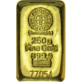 Gold bar, Argor Heraeus 250 g