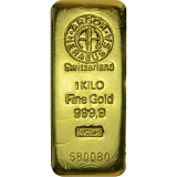 Gold bar, Argor Heraeus 1000 g